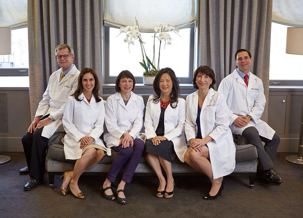 Dermatology Group of San Francisco's Doctors in the waiting room